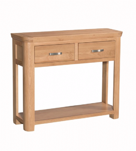 Treviso Oak Large Console Table